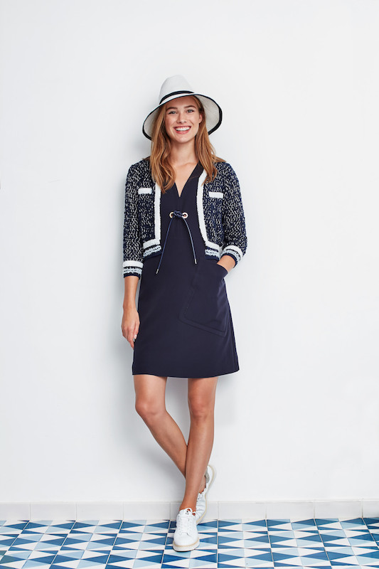 River Woods Dress, Jacket and Hat