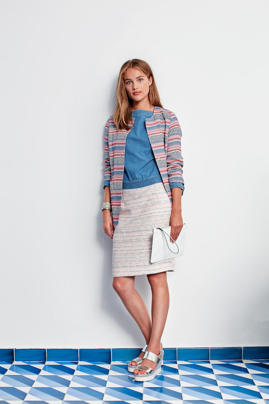 River Woods Skirt and Jacket