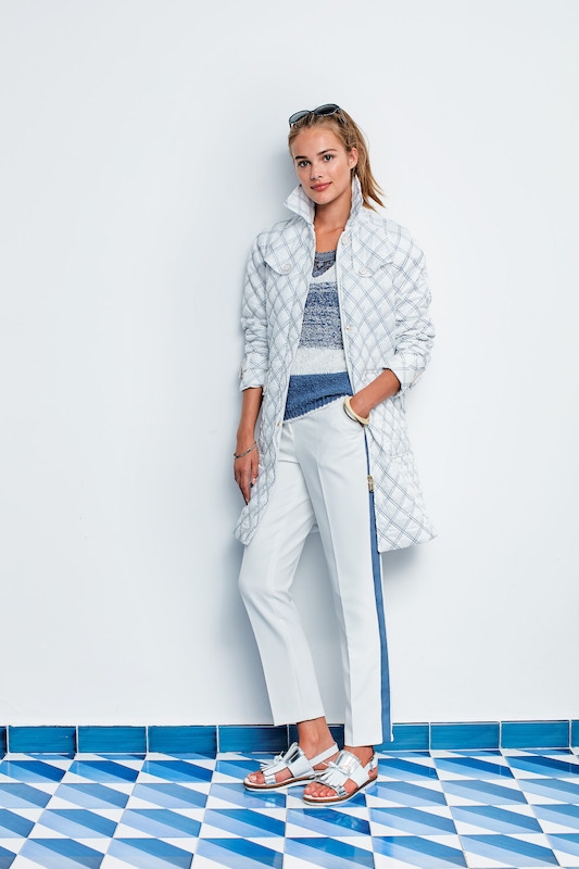 River Woods Trousers and Jacket White